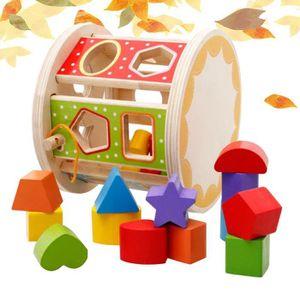 BOÎTE À FORME - GIGOGNE Blocs de construction boîte a forme En bois coloré