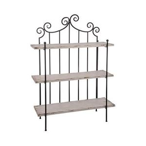 etagere murale fer forge achat vente etagere murale fer forge pas cher cdiscount. Black Bedroom Furniture Sets. Home Design Ideas