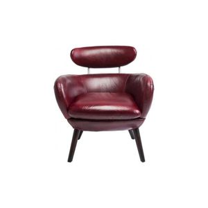 fauteuil jupiter rouge kare design achat vente fauteuil cdiscount. Black Bedroom Furniture Sets. Home Design Ideas
