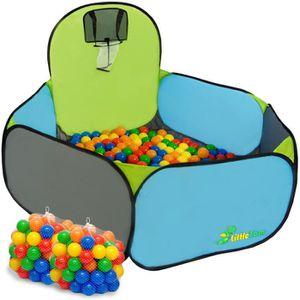 PISCINE À BALLES Piscine Tente Pumba de eyepower + 200 balles color