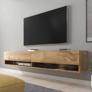MEUBLE TV Meuble TV / Meuble de salon - WANDER - 180 cm - ef