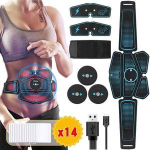 APPAREIL ÉLECTROSTIM Electrostimulateur Musculaire USB charge,EMS 8 Cei
