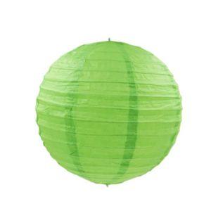 PHOTOPHORE - LANTERNE Lanterne en papier chinois boule deco Vert Pomme -