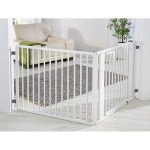 BARRIÈRE DE SÉCURITÉ  Kit Barriere de protection bébé Set 1 blanc laq…