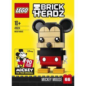 ASSEMBLAGE CONSTRUCTION LEGO® Brickheadz 41624 Mickey Mouse