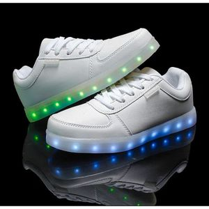 BASKET Unisex Homme Femme Chaussure LED light Lumire USB