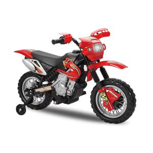 moto electrique enfant 6v rouge achat vente jeux et. Black Bedroom Furniture Sets. Home Design Ideas