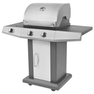 Barbecue Grill à gaz haute performance 800° Bull Burner Acier inoxydable