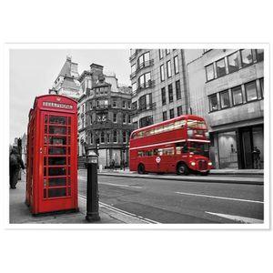 AFFICHE - POSTER Panorama® Poster Rues de Londres 100 x 70 cm - Imp