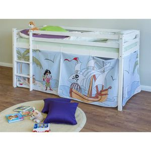 tour de lit pirate achat vente tour de lit pirate pas cher cdiscount. Black Bedroom Furniture Sets. Home Design Ideas