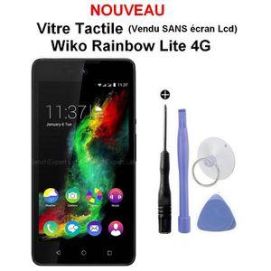 ECRAN DE TÉLÉPHONE Vitre Tactile pour WIKO Rainbow LITE 4g + Outils e