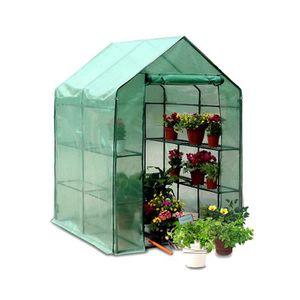 Serre de jardin avec etagere