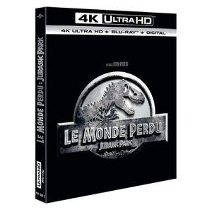 BLU-RAY FILM Jurassic Park Le Monde Perdu bluray 4K