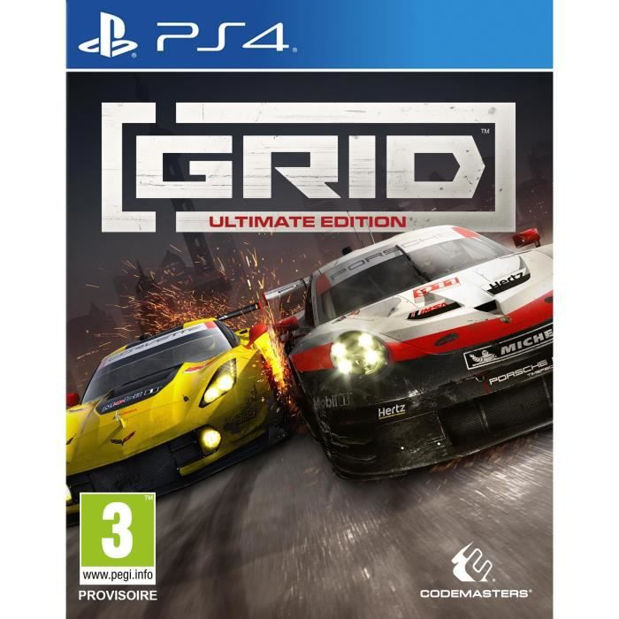 Grid Ultimate Edition Jeu PS4