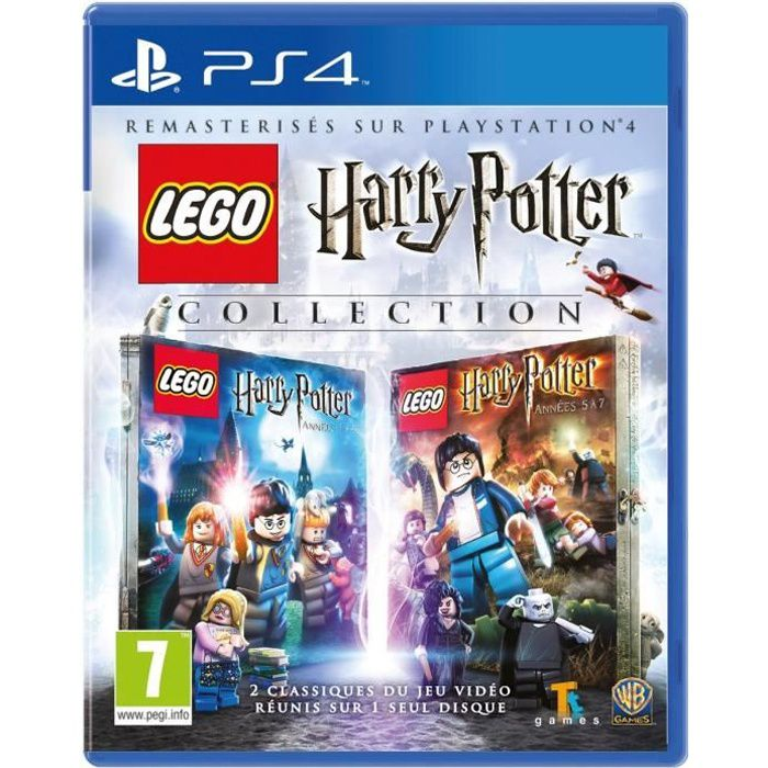 lego harry potter collection jeu ps4 achat vente jeu ps4 nouveaut lego harry potter coll. Black Bedroom Furniture Sets. Home Design Ideas