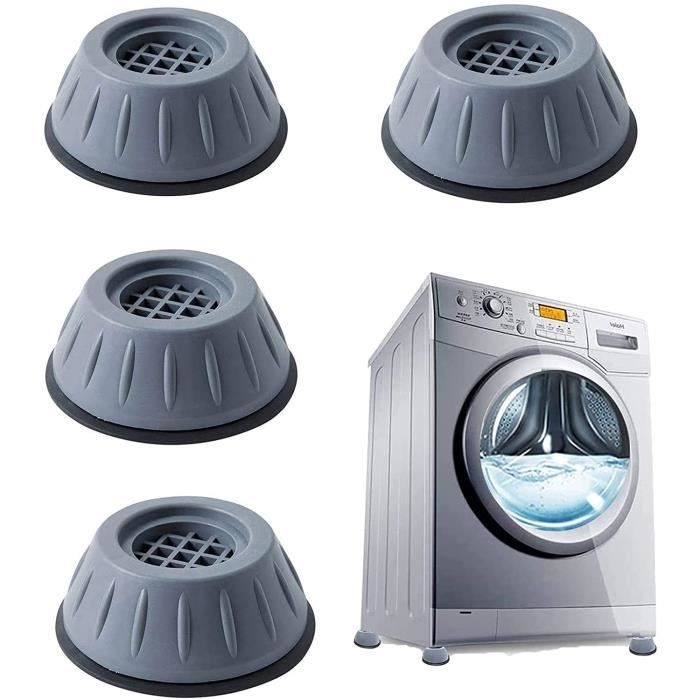 4 Pièces Tampons À Pied Machine À Laver Anti Vibration Tampon, pieds de machine à laver,universel pour lave-linge et sèche-linge.