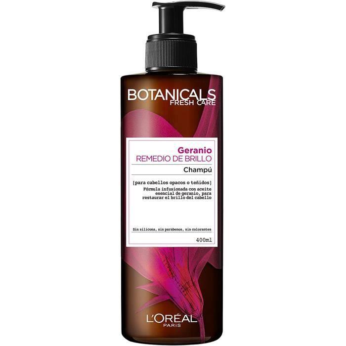 Soins et masques pour les cheveux L 'Oréal Paris Botanicals Remède Éclat pour cheveux ternes ou colorés Shampoing - Solu 965105
