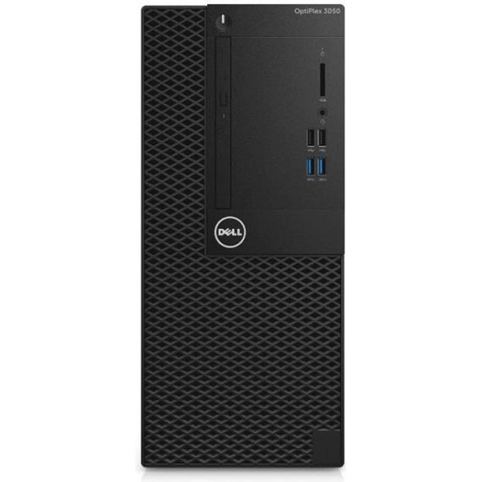 Dell OptiPlex 3050 - MT -PC de bureau-RAM 8 GO- 1 x Core i5 7500 / 3.4 GHz-HDD 1 TO-HD Graphics 630