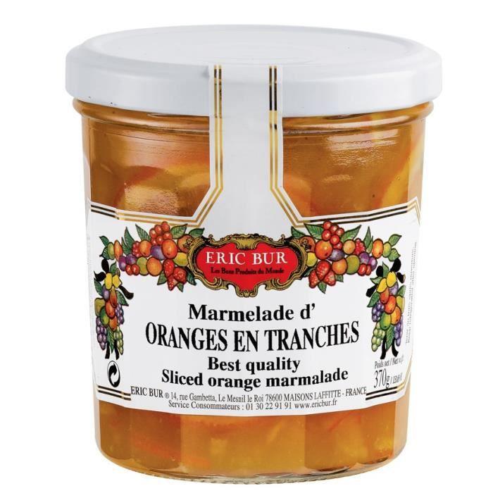 Confiture orange en tranches - Eric BUR
