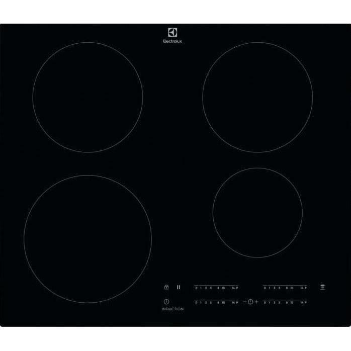 Electrolux LIT60443C, Intégré, Plaque avec zone à induction, Verre-céramique, Noir, Rectangulaire, 14,5 cm