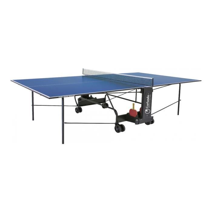 GARLANDO - Challenge intérieur - table de tennis - Bleu - réf C-273I