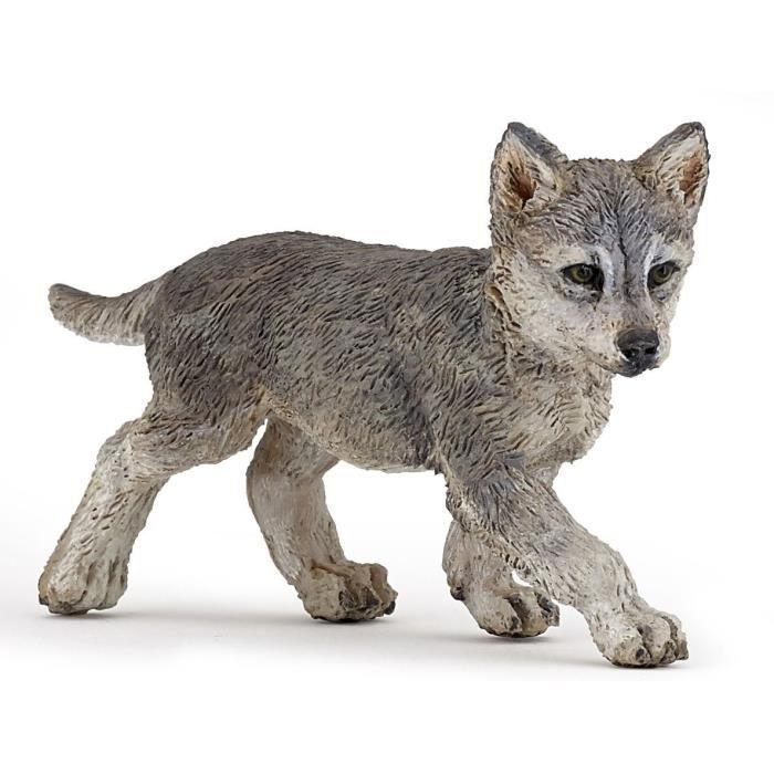 PAPO Figurine Bébé loup