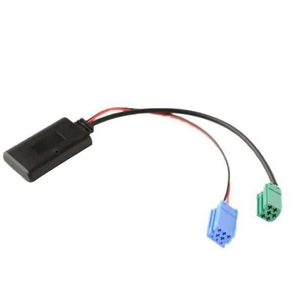 Interface Adaptateur Audio Bluetooth pour Voiture Biurlink MINI ISO 6 Broches et 8 Broches pour les ModèLes Renault 2005-2011 HôTe
