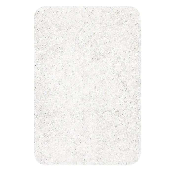 SPIRELLA Tapis de bain HIGHLAND 70x120 cm - Blanc