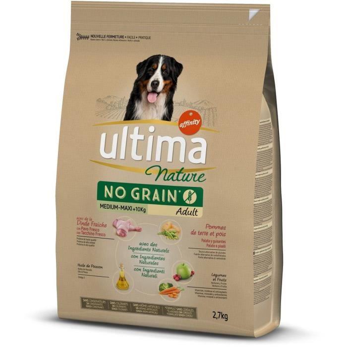 ULTIMA Croquettes à la dinde pour chiens - 2,7 kg