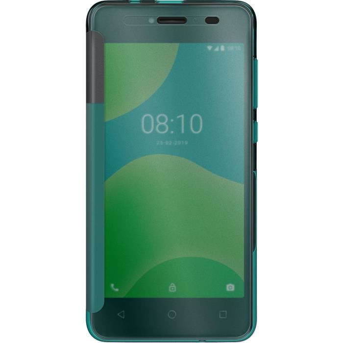 WIKO - ETUI FOLIO EASY PACIFIC GREEN Y50