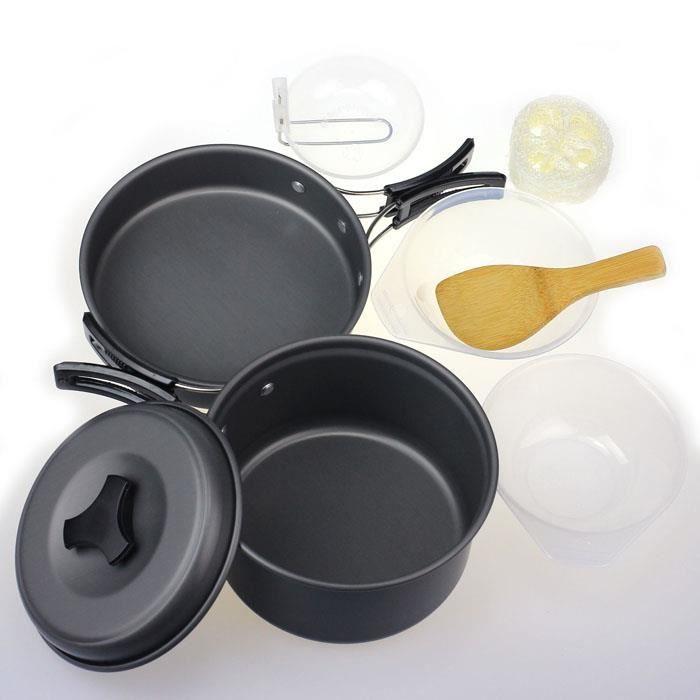 PANIER PIQUE-NIQUE Extérieur Camping casseroles cuisine sac à dos cui