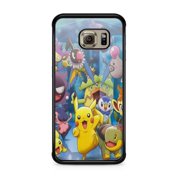COQUE - BUMPER Coque Samsung Galaxy S7 EDGE   Pokemon go team pok