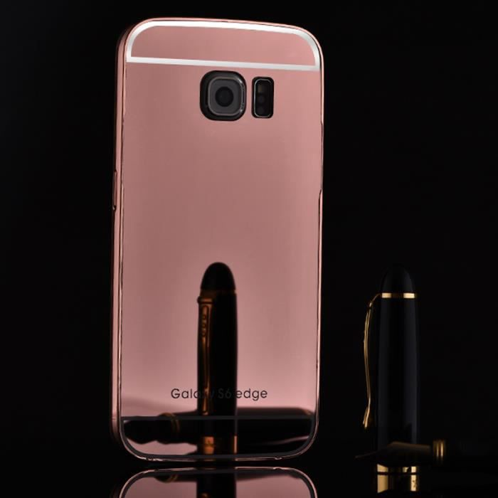 coque galaxy s6 rose