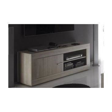 meuble tv contemporain vidone en bois achat vente meuble tv meuble tv contemporain vido. Black Bedroom Furniture Sets. Home Design Ideas