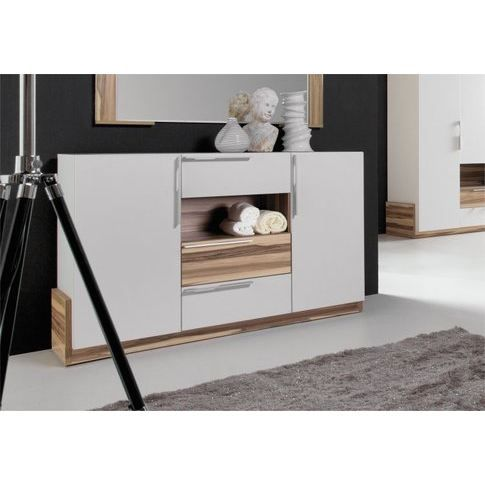 commode moderne 2 portes white achat vente commode de chambre commode 2 portes blanche. Black Bedroom Furniture Sets. Home Design Ideas