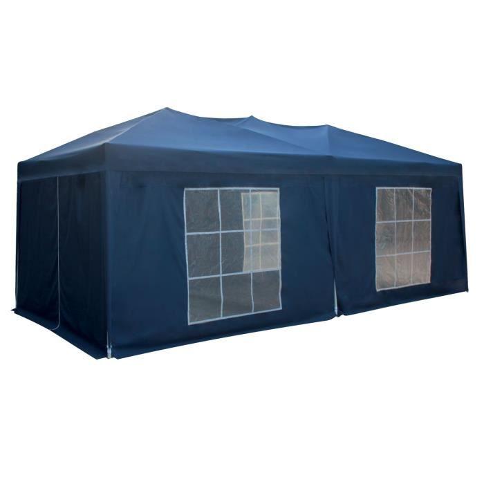 TONNELLE - BARNUM Tente de réception MISTRAL pliante 3x6m Bleu avec
