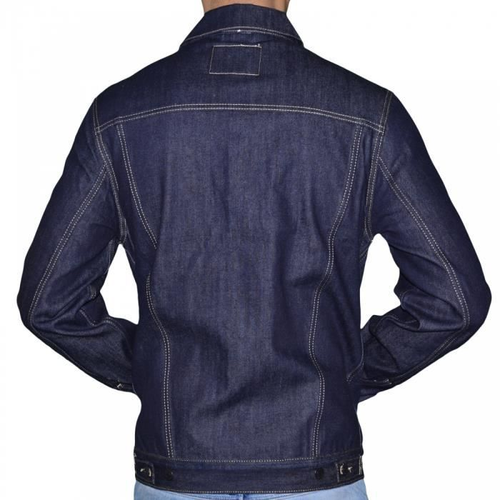 veste denim vintage jacket levis homme 70797 0003. Black Bedroom Furniture Sets. Home Design Ideas