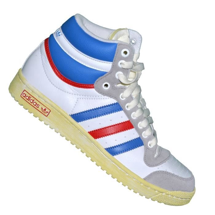 Royal Top Baskets Rouge Originals Hi G60128 Ten Blanc Adidas 0OPwk8n