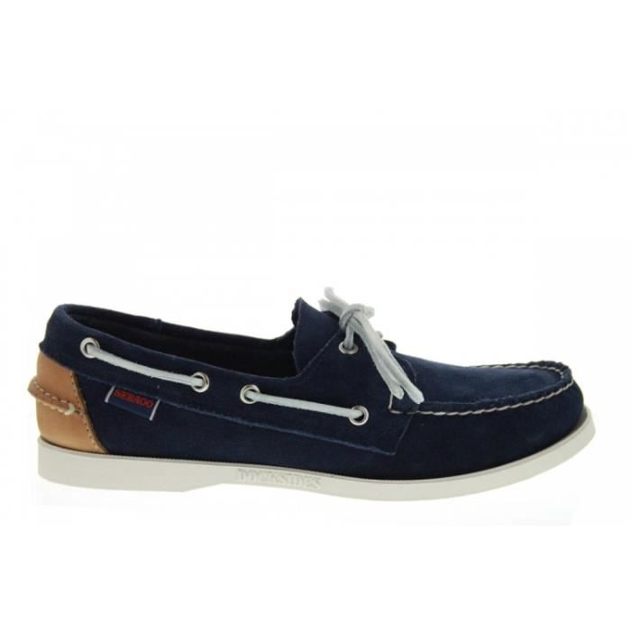 Baskets mode - Sebago Docksides WDark Brown Nubuck