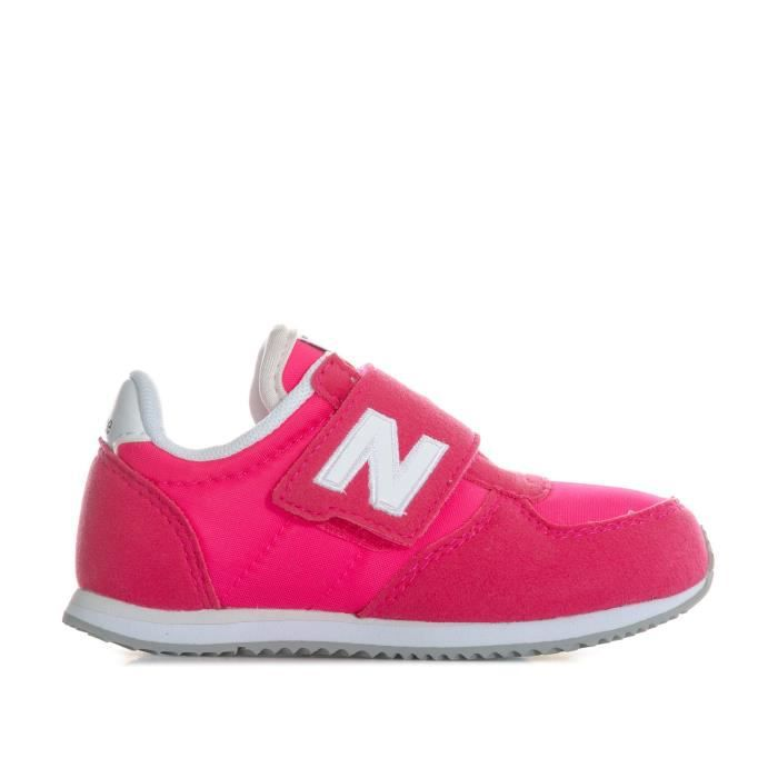 new balance enfant rose
