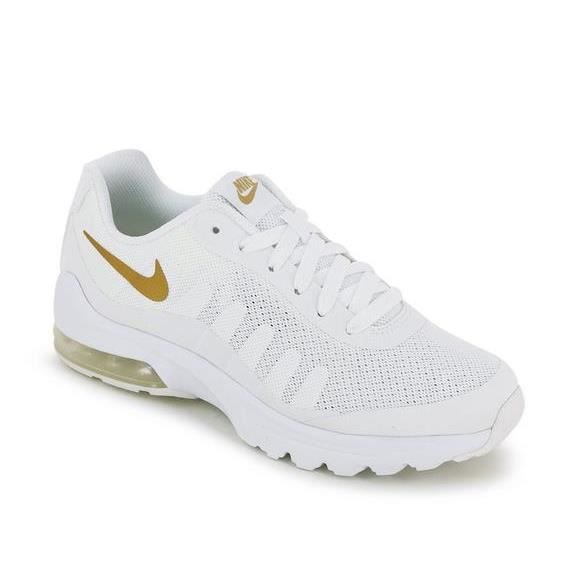 NIKE AIR MAX INVIGOR 749572-100 BLANCHE/OR - Achat / Vente ...