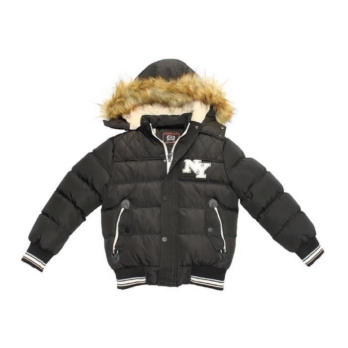 39cd0c25fc7 Ensemble De Vetements - NPZ - Doudoune enfant NEW YORK noir Taille de 2 à 5  ans