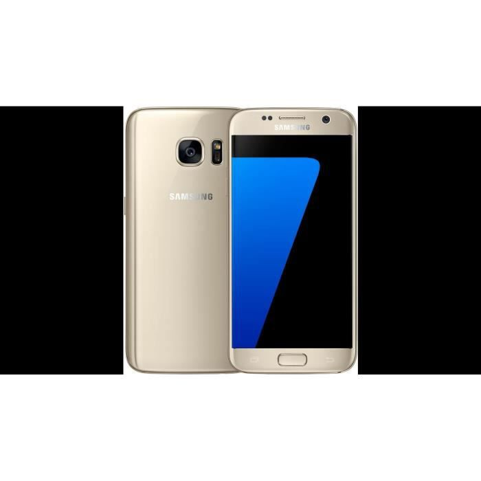 samsung galaxy s7 edge or 32go achat smartphone pas cher avis et meilleur prix cdiscount. Black Bedroom Furniture Sets. Home Design Ideas