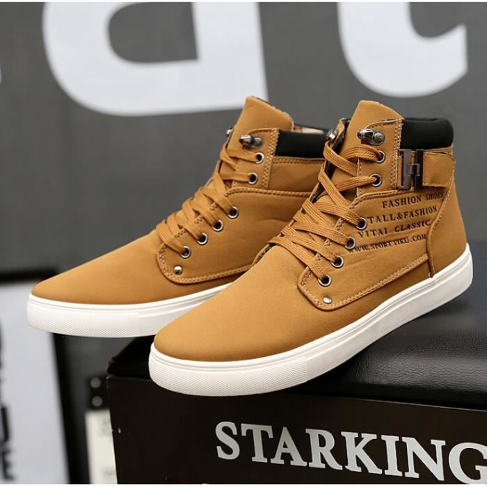 chaussures montantes Skate Mode Basket Homme Chaussure Shoes Homme r48xCqwrpd