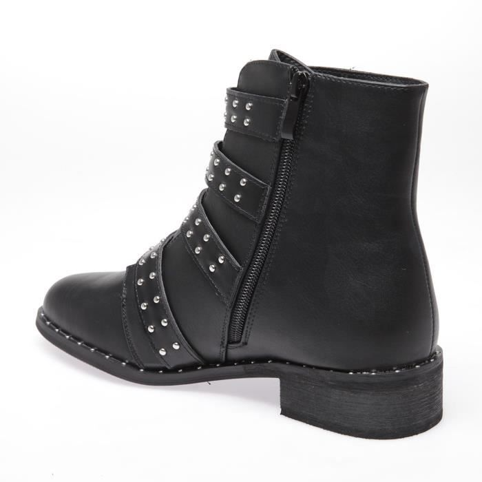 LA MODEUSE - BOTTINES EN PU