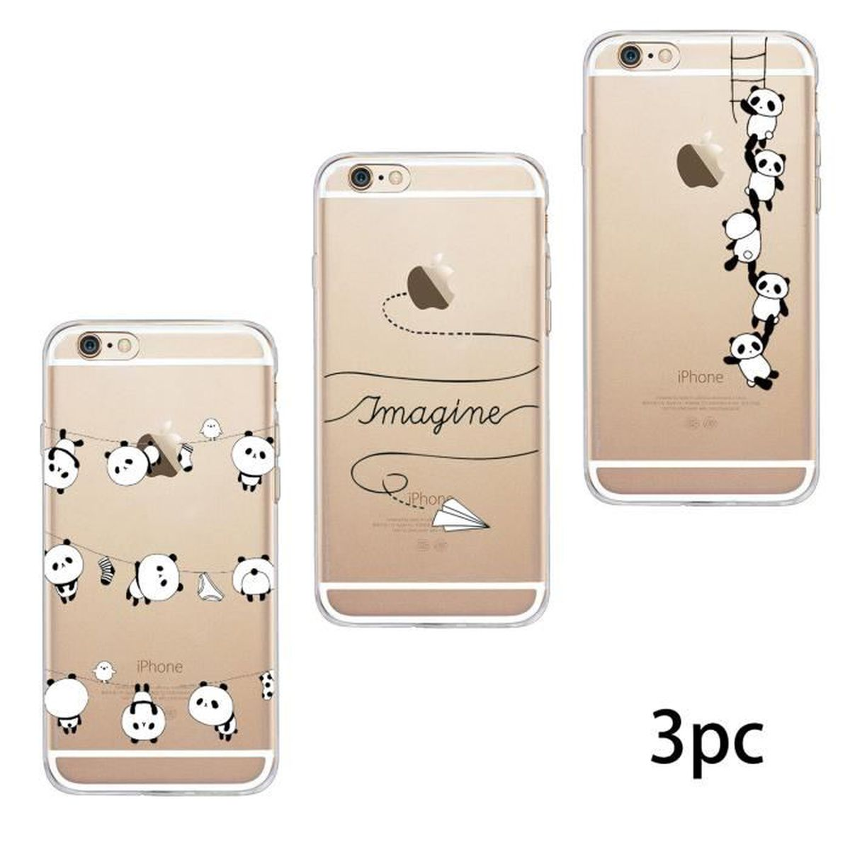 coque gel silicone iphone 7