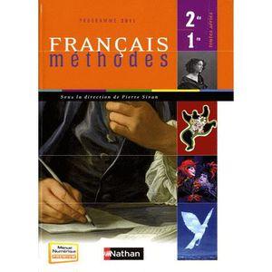 Francais Methodes 2de 1re Toutes Series Achat Vente