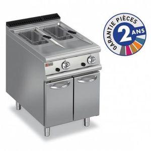 FRITEUSE ELECTRIQUE Friteuse à gaz - 2x 10 litres - Gamme 700 - Baron