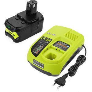 BATTERIE MACHINE OUTIL 18V 5,0Ah Li-ion Remplacement de Batterie + Charge