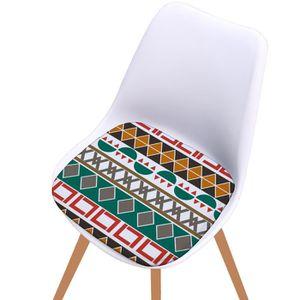 COUSSIN DE CHAISE  Coton imprimé Seat Pad Salle à manger extérieure J